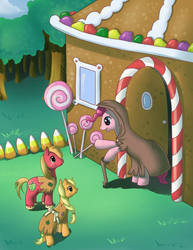 MLP Hansel and Gretel by Alipes