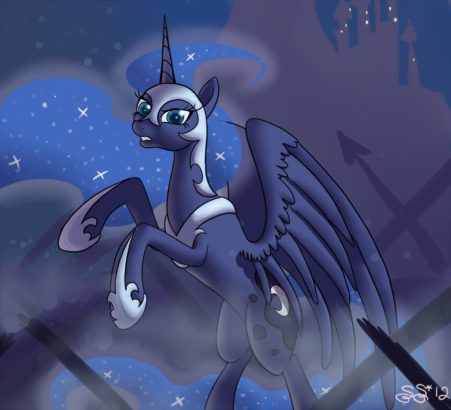 ATG2 - 1 - Nightmare Luna by Alipes
