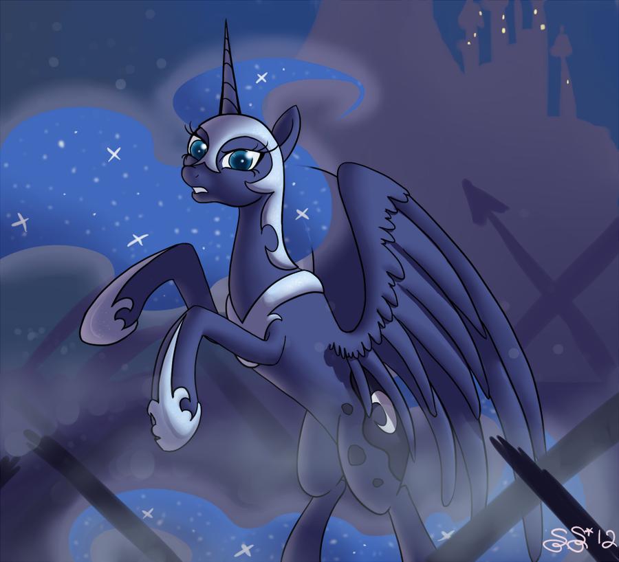 ATG2 - 1 - Nightmare Luna by Alipes