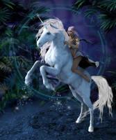 Unicorn by LillithI