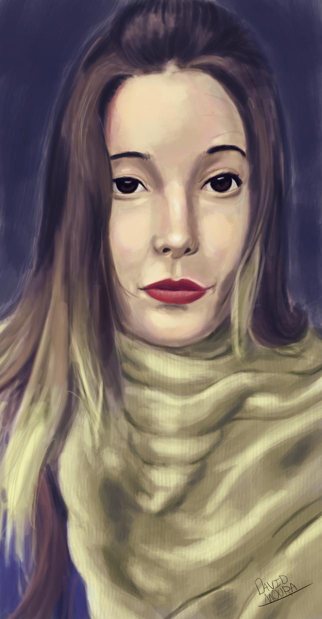 Portrait Duda by davidwizard2