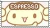 Espresso Stamp by Abblecrumble
