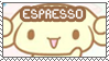 Espresso Stamp by Abblecrumble