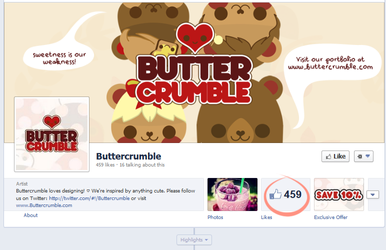 Buttercrumble on Facebook