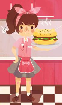 Betty Bear Burger