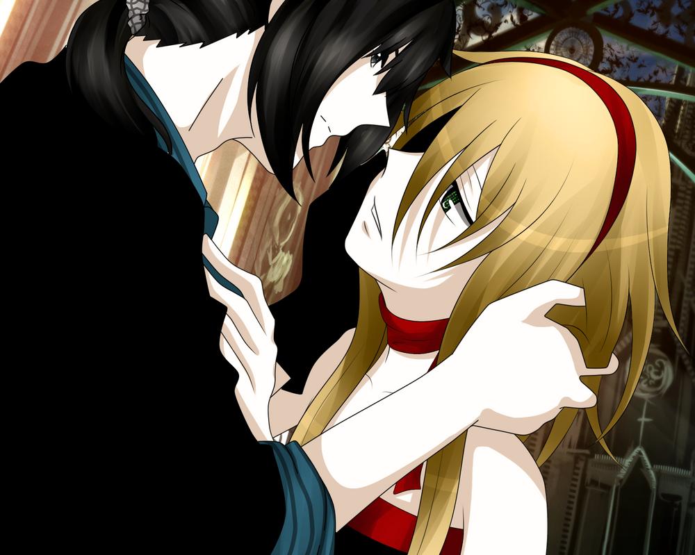 Go on and kiss the girl by Nitus-sama