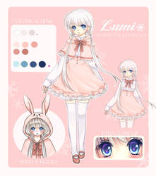 OC reference: Lumi by AmiMochi
