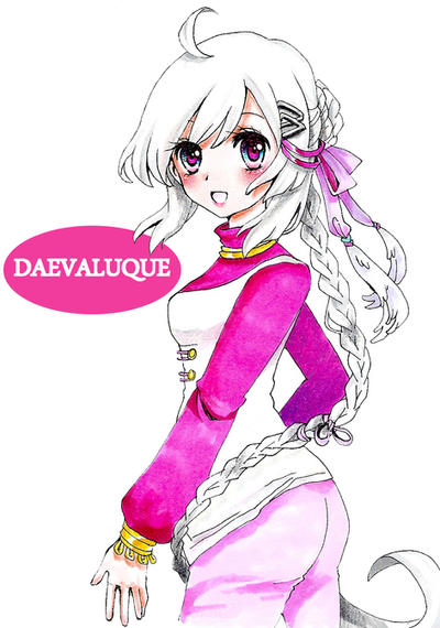Thank you gift for Daevaluque by AmiMochi