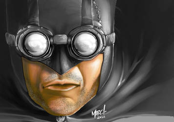 Steampunk Batman:WIP