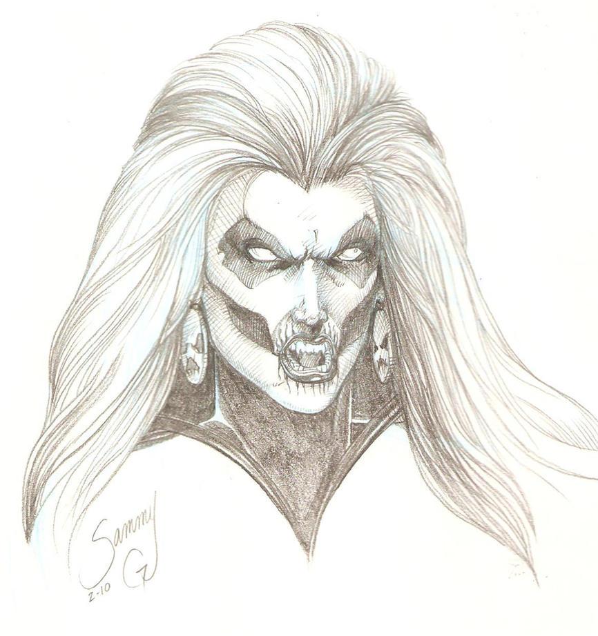 Silver Banshee sketch by SammyG23