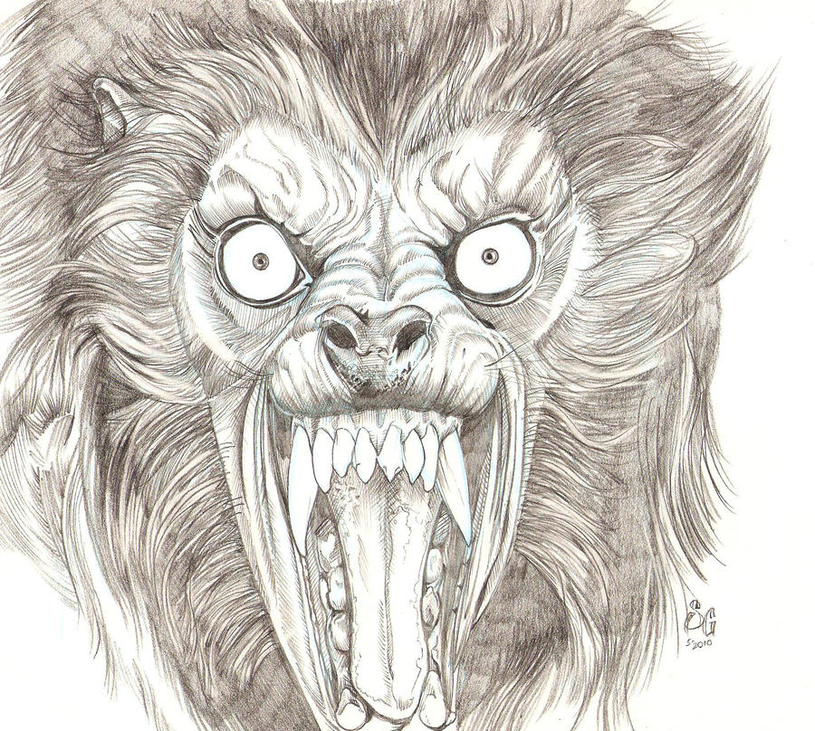 An American Werewolf by SammyG23