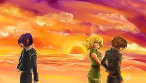 GSD: Goodbye..... by korga