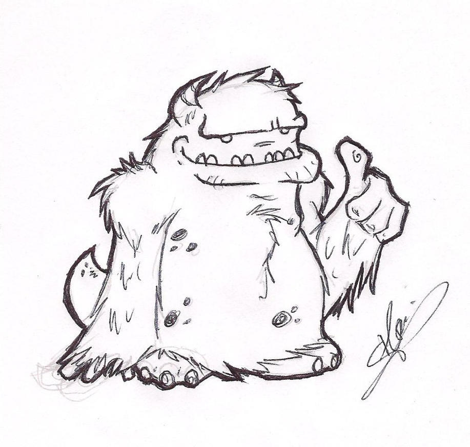 30 Day Drawing Challenge A Monster GOOD By Arganthiel