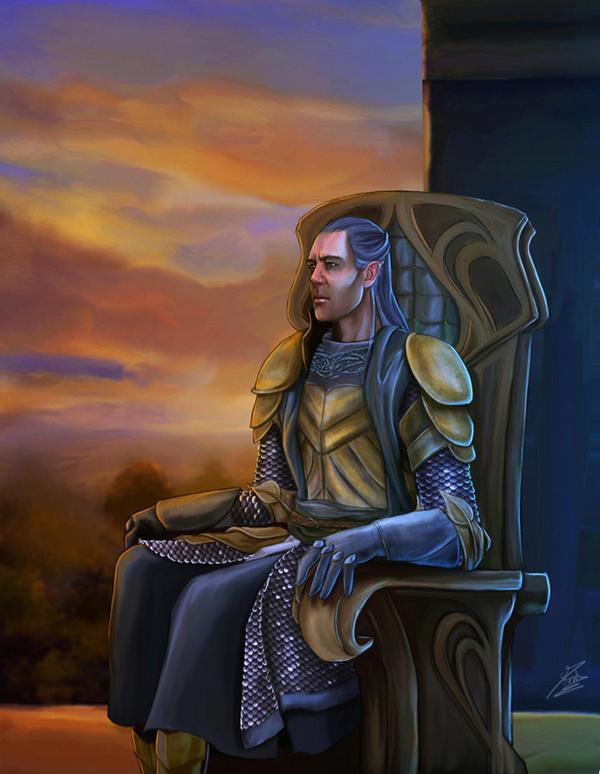 Celeborn King of East Lorien by Moumou38