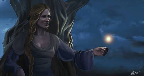 Galadriel, lady of light by Moumou38