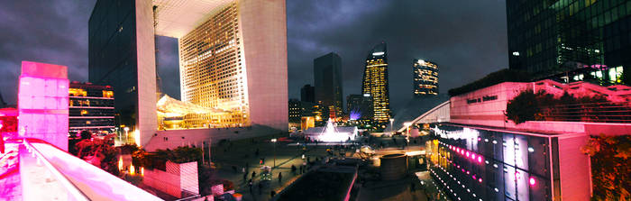La Defense , Paris by Moumou38