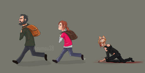 The Last of Us in one picture by Moumou38