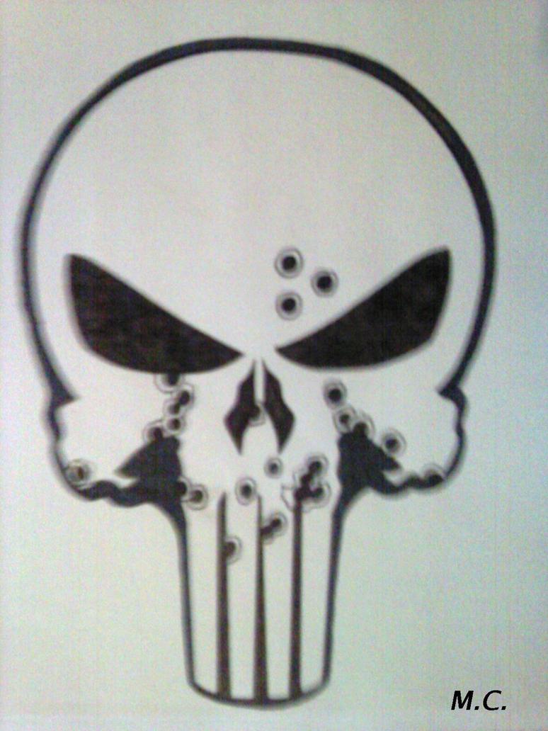 Punisher's Skull by Inimputable on DeviantArt