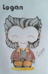 Cute Happy Logan by Inimputable