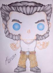 Cute Wolverine Origenes by Inimputable