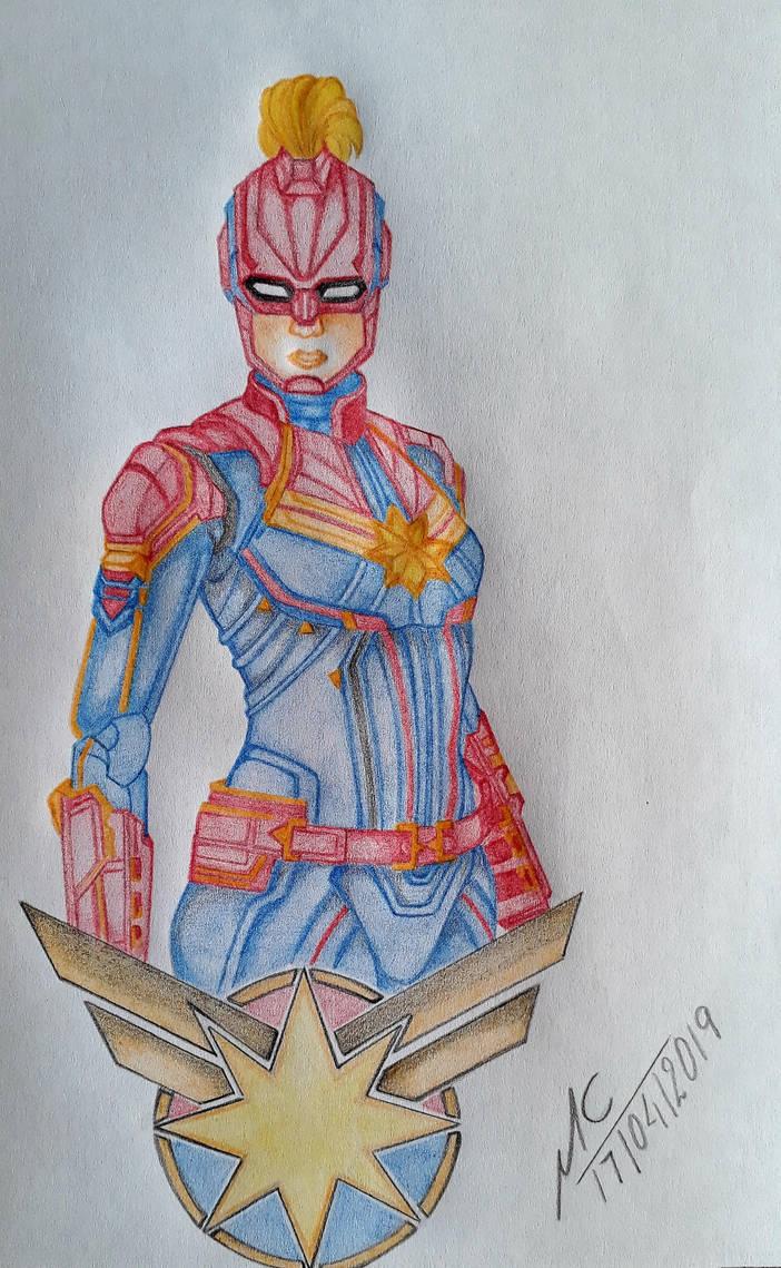 Captain Marvel by Inimputable