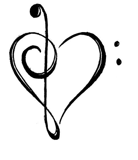 the heart of music by urikikitty on deviantart September Clip Art Free Printable September Flowers Clip Art Free