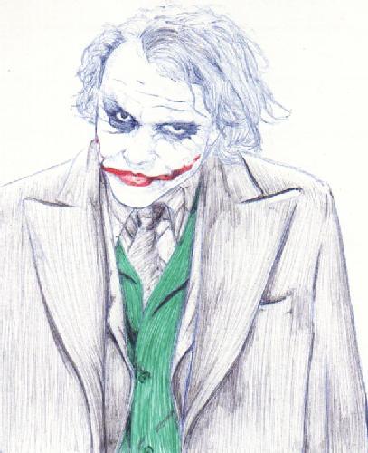 El joker dibujo - Imagui