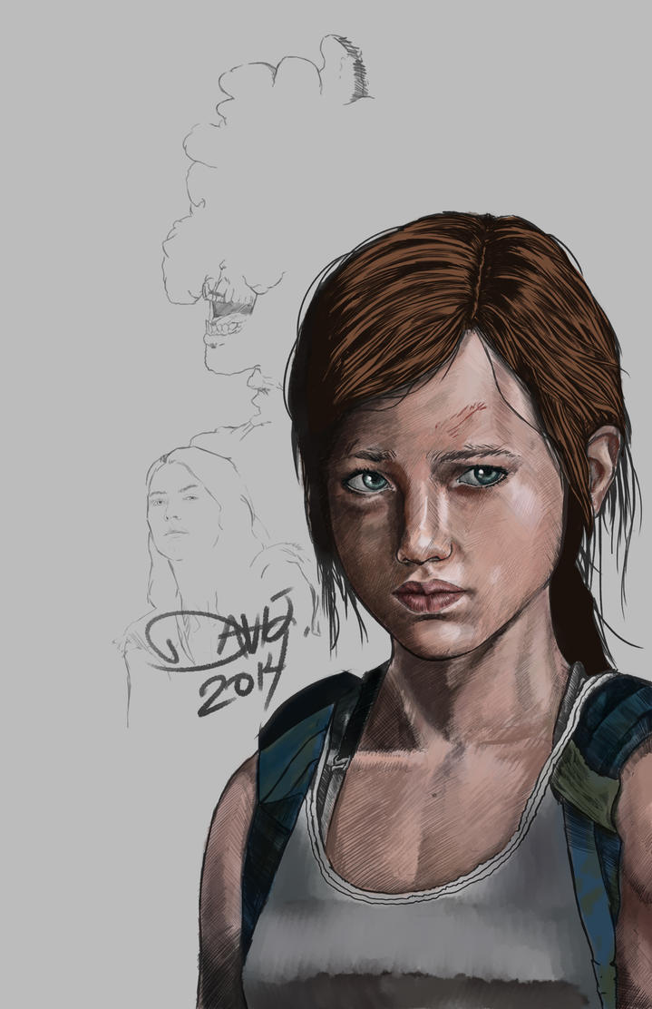 The Last Of Us (WIP) by DavidRobertsArt