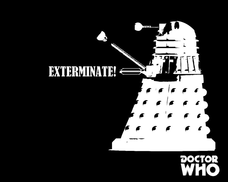 Doctor Who Wallpaper Dalek Exterminate Doctor Who - Exterminate by