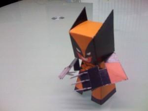 Wolverine by papertoyadventures