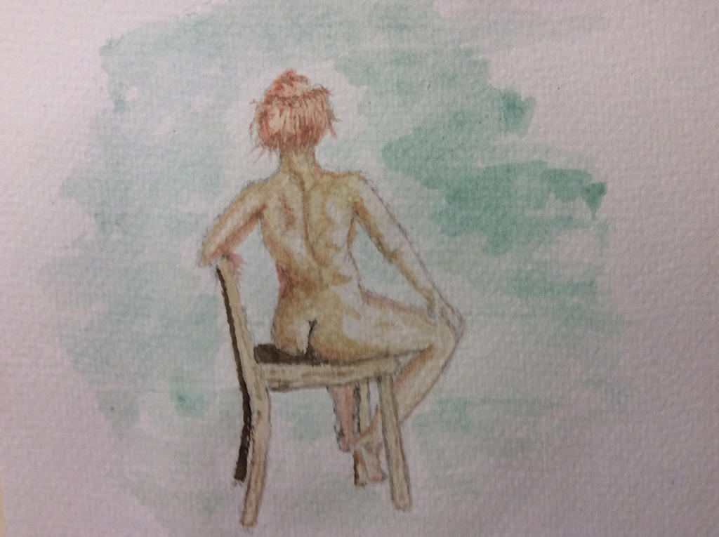 Charlotte.  Water colour by Jennyben