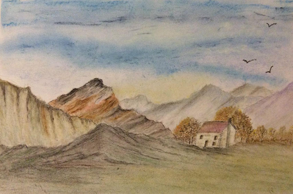 Hilly retreat by Jennyben