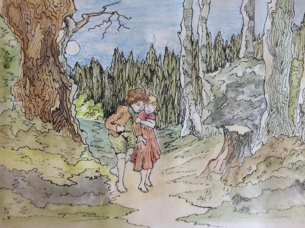Hansel and Gretal by Jennyben