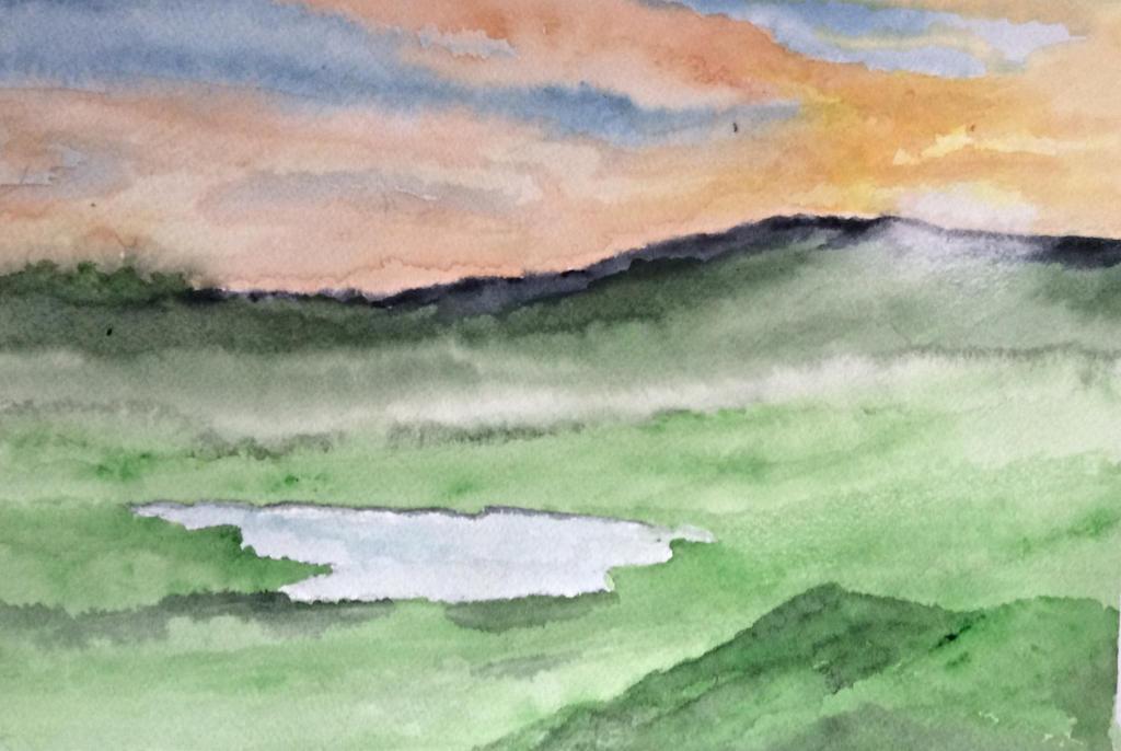 Dusk on the moors by Jennyben