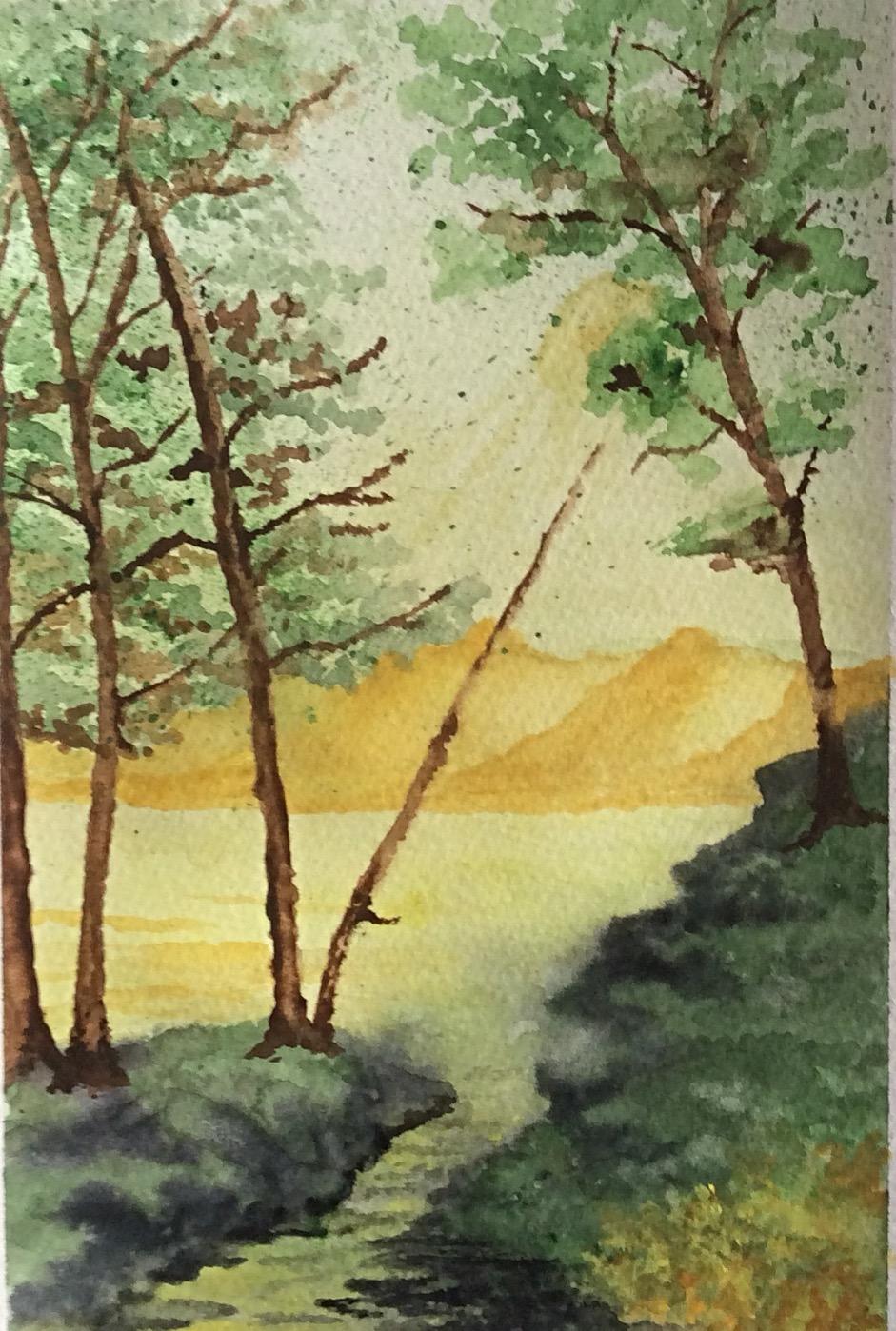 Ochre hills by Jennyben