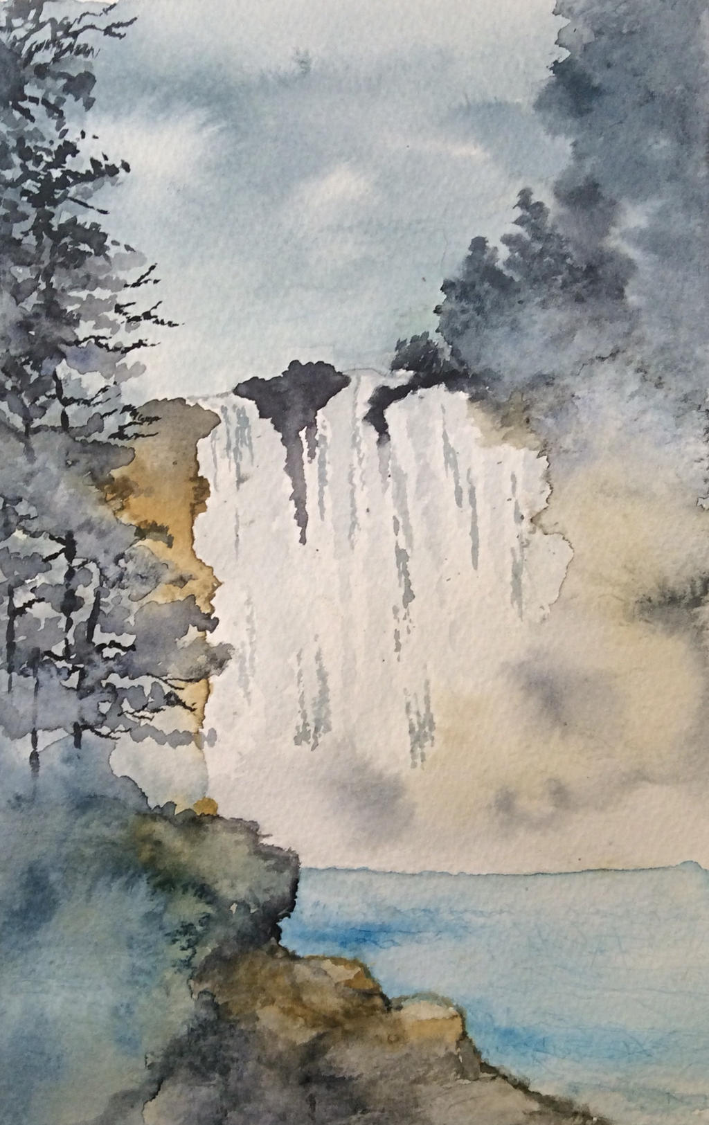 The Falls by Jennyben