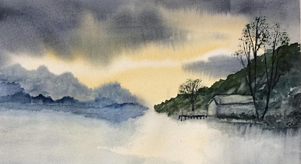 The Boathouse by Jennyben