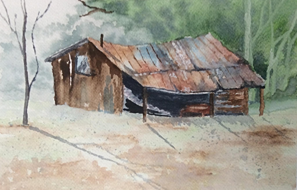 The old barn by Jennyben