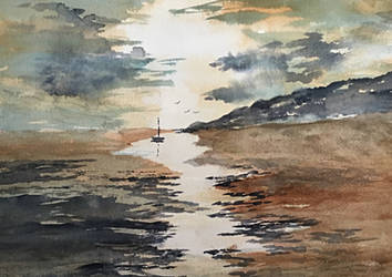 Low Tide by Jennyben