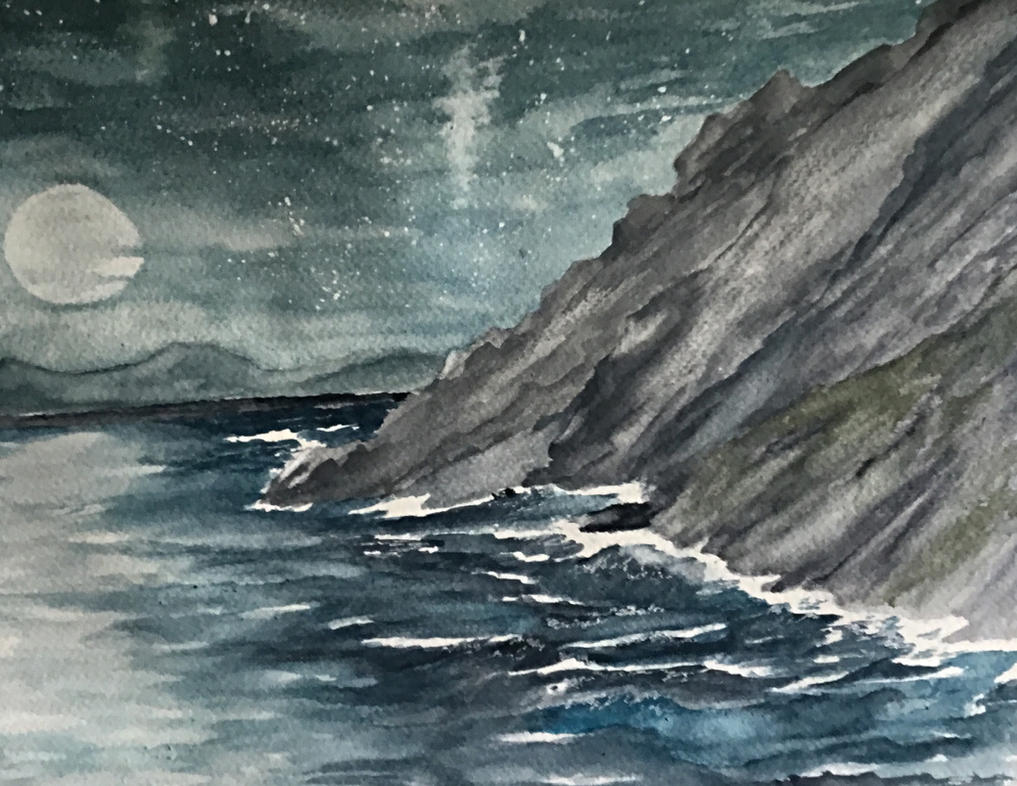 Moonscape by Jennyben