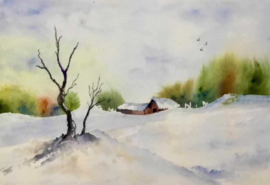 When autumn meets winter by Jennyben