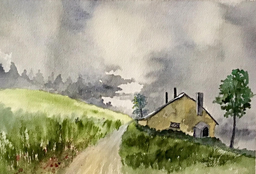 Old Farmhouse by Jennyben