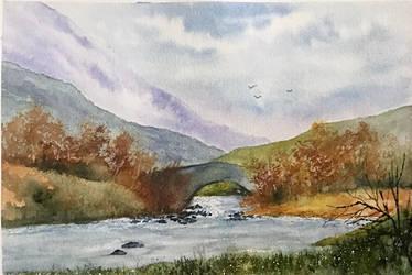 The Old Bridge by Jennyben