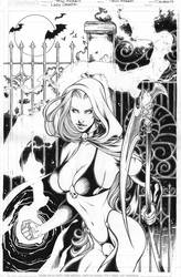 LADY DEATH 25 regular cover
