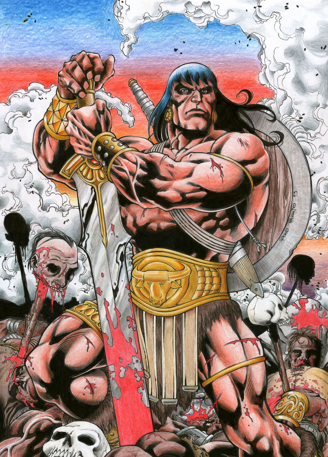 Conan the barbarian hentai sex movies