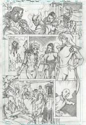 X-MEN '92 sample page 2 by PowRodrix
