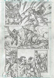 X-MEN '92 sample page 1 by PowRodrix
