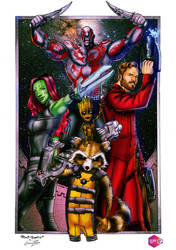 GUARDIANS OF THE GALAXY by PowRodrix