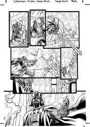 STAR WARS Empire Strikes Back - sample page 2