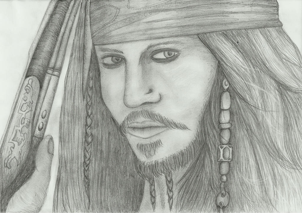 Captain Jack Sparrow by PhoenixQuill666